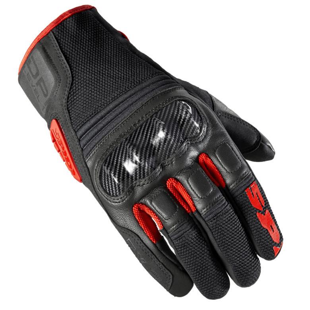 size M Motorcycle Gloves SPIDI C69 TX-2 black