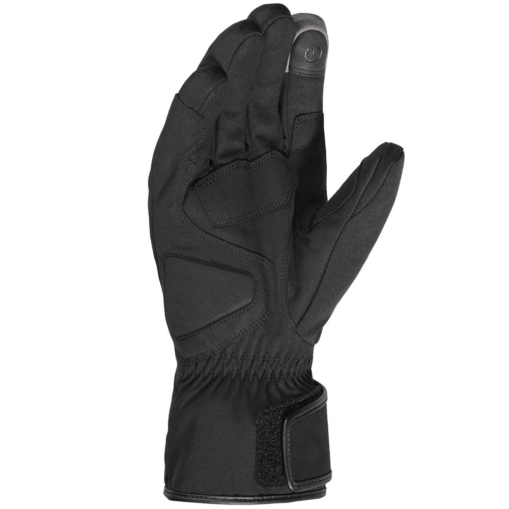 Spidi TX-T H2Out Motorcycle CE Waterproof Touchscreen Touring Gloves Black
