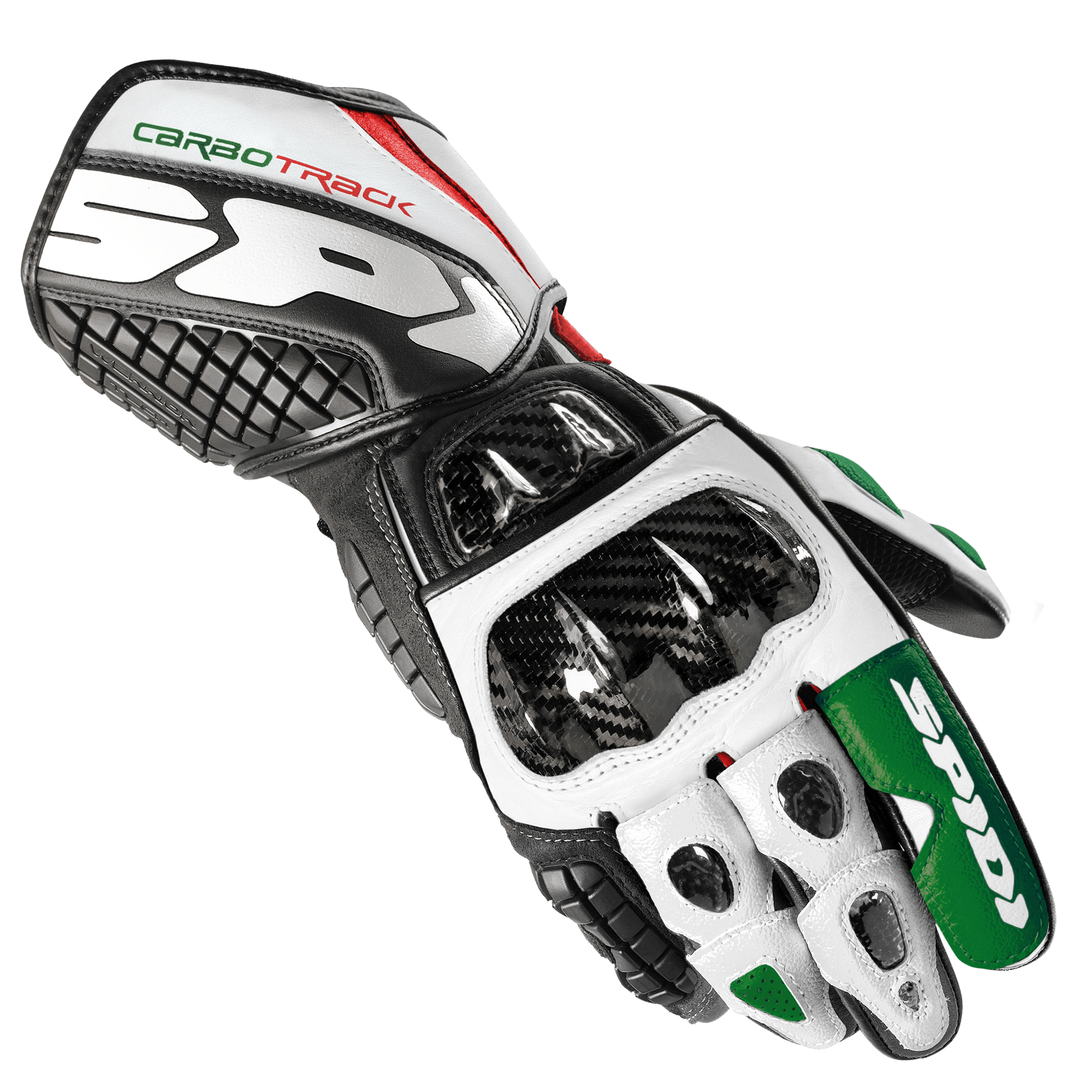 carbo track leather glove